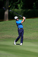 Greame McDowell (NIR) on the 5th fairway during Round 3 of the Maybank Malaysian Open at the Kuala Lumpur Golf & Country Club on Saturday 7th February 2015.<br /> Picture:  Thos Caffrey / www.golffile.ie