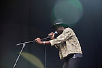 Theophilus London performs during the Austin City Limits Music Festival in Austin, Texas on Friday, September 16, 2011. The three day festival sold out to a crowd of over 70,000 music goers.