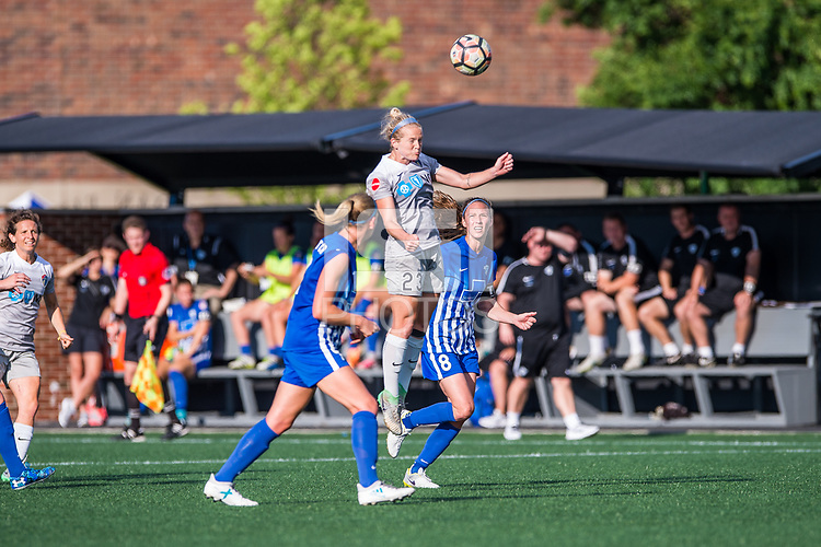 Boston, MA - Saturday June 24, 2017: Kristen Hamilton during a regular season National Women's Soccer League (NWSL) match between the Boston Breakers and the North Carolina Courage at Jordan Field.