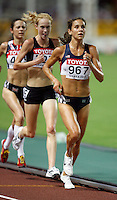 Kara Goucher placed 3rd. in the 10,000m run with a time of 32:02.05 at the 11th. IAAF World Championship being held in Osaka, Japan. on Saturday, August 25, 2007. Photo by Errol Anderson,The Sporting Image.