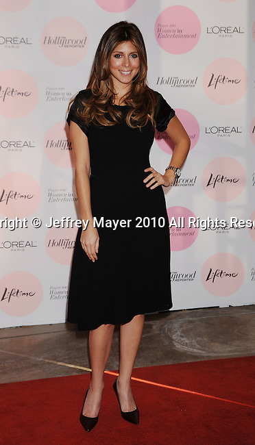BEVERLY HILLS, CA. - December 07: Jamie Lynn Sigler attends The Hollywood Reporter's Power 100: Women In Entertainment Breakfast at Beverly Hills Hotel on December 7, 2010 in Beverly Hills, California.