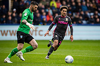 Leeds United's Helder Costa (right) competing with Sheffield Wednesday's goalkeeper Keiren Westwood <br /> <br /> Photographer Andrew Kearns/CameraSport<br /> <br /> The EFL Sky Bet Championship - Sheffield Wednesday v Leeds United - Saturday 26th October 2019 - Hillsborough - Sheffield<br /> <br /> World Copyright © 2019 CameraSport. All rights reserved. 43 Linden Ave. Countesthorpe. Leicester. England. LE8 5PG - Tel: +44 (0) 116 277 4147 - admin@camerasport.com - www.camerasport.com