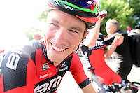 Picture by Simon Wilkinson/SWpix.com - 10/09/2016 - Cycling - Tour of Britain 2016 Stage 7 - Bristol Circuit - BMC Rohan Dennis wins at Bristol