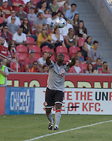 Toronto FC defender Nana Attakora (3). Salt Lake Real defeated Toronto FC, 3-0, at Rio Tinto Stadium on June 27, 2009.