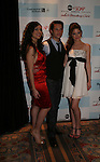 Camila Banus, Jason Tam and Brittany Underwood at the after party of ABC and SOAPnet's Salute to Broadway Cares/Equity Fights Aids on March 9, 2009 at the New York Marriott Marquis, New York, NY.  (Photo by Sue Coflin/Max Photos)