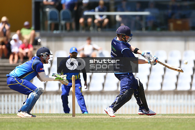 NELSON, NEW ZEALAND - February 8: Cricket - ACOB v Nelson College Saxton Oval Nelson, New Zealand. Saturday 8 Februrary 2020. (Photo by Evan Barnes/Shuttersport Limited)