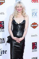 HOLLYWOOD, LOS ANGELES, CA, USA - SEPTEMBER 06: Courtney Love arrives at the Los Angeles Premiere Of FX's 'Sons Of Anarchy' Season 7 held at the TCL Chinese Theatre on September 6, 2014 in Hollywood, Los Angeles, California, United States. (Photo by Xavier Collin/Celebrity Monitor)