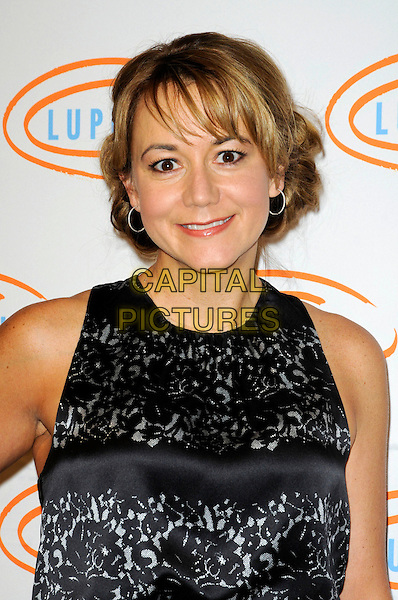 MEGYN PRICE.Lupus LA's 7th Annual Bag Ladies Luncheon to raise funds for lupus research at the Beverly Wilshire Four Seasons Hotel in Beverly Hills, California, USA..November 18th, 2009.half length black sleeveless top megan lace.CAP/ROT.©Lee Roth/Capital Pictures