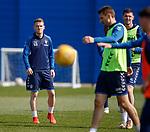 19.04.2019 Rangers training: Steven Davis