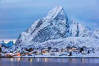 Norway-Lofoten Islands-Reine & Hamnoy