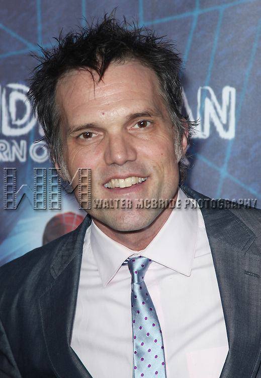 Jeb Brown.attending the ''Spider-Man Turn off the Dark'' Opening Night After Party  in New York City.