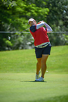 Ariya Jutanugarn (THA) watches her tee shot on 14 during round 2 of the 2018 KPMG Women's PGA Championship, Kemper Lakes Golf Club, at Kildeer, Illinois, USA. 6/29/2018.<br /> Picture: Golffile | Ken Murray<br /> <br /> All photo usage must carry mandatory copyright credit (© Golffile | Ken Murray)