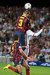 UEFA Champions League 2013/2014.<br /> FC Barcelona vs AFC Ajax: 4-0 - Game: 1.<br /> 3-0: Gerard Pique