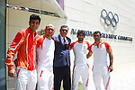 18/06/2015 - Azerbaijan National Olympic Committee visit and Jade Jones Medal - Baku - Azerbaijan