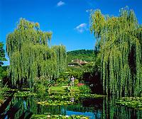 Frankreich, Haute-Normandie, Département Eure, Giverny: Monets Garten | France, Upper Normandy, Département Eure, Giverny: Monet's Garden (the Water Garden)