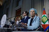 Roma, 4 Aprile 2018<br /> Emma Bonino<br /> Primo giorno di Consultazioni per la formazione del Governo