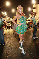 SAO PAULO, SP, 12 DE FEVEREIRO 2012 - ENSAIO MANCHA VERDE - Ensaio técnico da Escola de Samba Mancha Verde na preparação para o Carnaval 2012. O ensaio foi realizado na noite deste domingo (12/02) no Sambódromo do Anhembi, zona norte da cidade. (FOTO: RICARDO LOU - NEWS FREE).