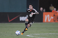 D.C. United midfielder Santino Quaranta (25). D.C. United defeated The Vancouver Whitecaps FC 4-0 at RFK Stadium, Saturday August 13 , 2011.