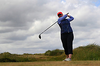 Olivia Lucas (Lahinch) during the 1st round of the Irish Women's Open Stroke Play Championship, Enniscrone Golf Club, Enniscrone, Co. Sligo. Ireland. 16/06/2018.<br /> Picture: Golffile | Fran Caffrey<br /> <br /> <br /> All photo usage must carry mandatory copyright credit (© Golffile | Fran Caffrey)