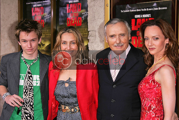 Dennis Hopper and family<br />