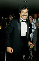 November 16 1986 File Photo - Montreal, Quebec - Handicaped athlete  Andre Viger honored at La Presse (newpaper) annual gala