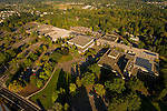 Aerial View of Mt. Hood Community College, Gresham, Oregon