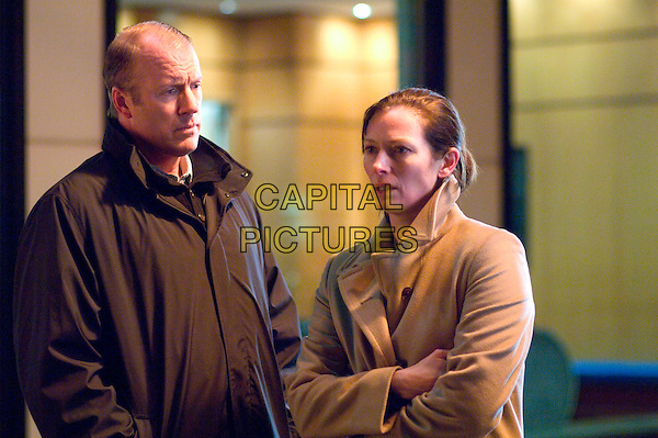 ROBERT PRESCOTT & TILDA SWINTON.in Michael Clayton .**Editorial Use Only**.CAP/FB.Supplied by Capital Pictures