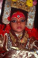 Ganesh, Kumari conscrt, Indra Jatra festival.