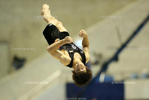 Ryohei Kato, .NOVEMBER 4, 2012 - Artistic Gymnastics : .The 66th All Japan Gymnastics Apparatus Championship .Men's Floor Exercise Final .at 1st Yoyogi Gymnasium, Tokyo, Japan. .(Photo by YUTAKA/AFLO SPORT) [1040]