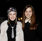 Singers Audrey Dickson and Gabriella at Jane Elissa Extravaganza 2015 - ALL to benefit Leukemia/Lymphoma and blood related cancers and presented by sponsor Duane Reade/Walgreens on November 16, 2015 at the New York Marriott Marquis, New York City, New York.  (Photo by Sue Coflin/Max Photos)
