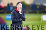 Declan O'Sullivan manager of Piarsaigh na Dromoda at the South Kerry Final in Cahersiveen on Saturday.