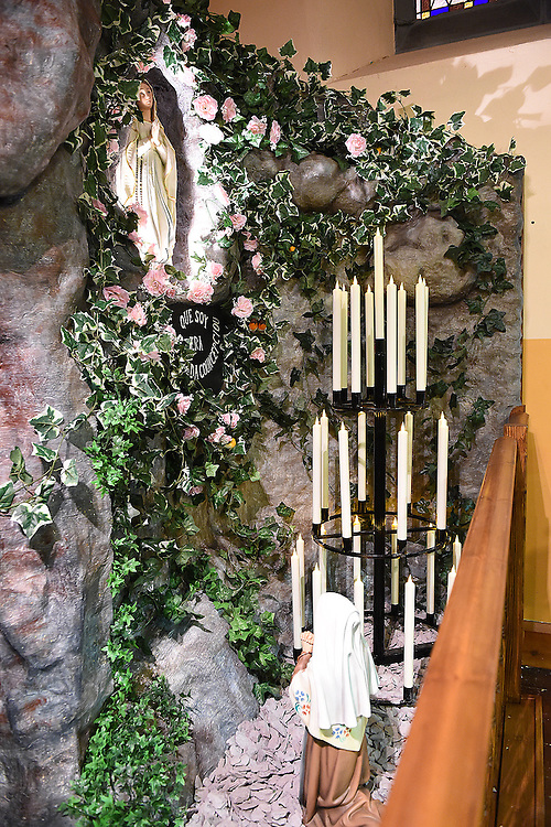 The new grotto in the Dominican church Drogheda. Photo:Colin Bell/pressphotos.ie