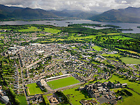 An aerial photograph of Killarney in County Kerry.<br /> Photo: Don MacMonagle <br /> e: info@macmonagle.com
