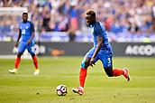June 13th 2017, Stade de France, Paris, France; International football friendly, France versus England; BENJAMIN MENDY (fra) breaks forward