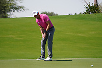 Maximilian Kieffer (GER) on the 10th during Round 1 of the Commercial Bank Qatar Masters 2020 at the Education City Golf Club, Doha, Qatar . 05/03/2020<br /> Picture: Golffile | Thos Caffrey<br /> <br /> <br /> All photo usage must carry mandatory copyright credit (© Golffile | Thos Caffrey)