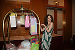 Alicia Minshew - AMC received many baby gifts from fans as she attends All My Children Fan Luncheon on September 13, 2009 at the New York Helmsley Hotel, NYC, NY. (Photo by Sue Coflin/Max Photos)