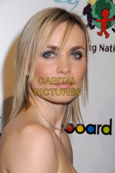 RADHA MITCHELL.Billboard and Children Uniting Nations 9th Annual Awards Celebration Viewing Dinner and Oscar After Party held at the Beverly Hilton Hotel, Beverly Hills, California, USA, 24 February 2008..headshot portrait .CAP/ADM/GB.?Gary Boas/Admedia/Capital Pictures
