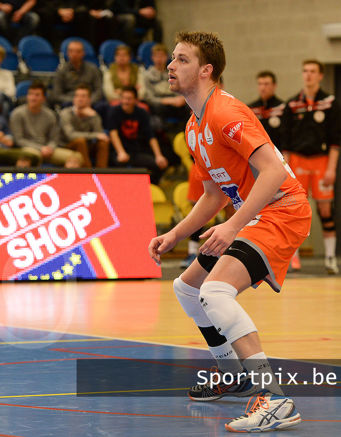 Volley Behappy2 Asse Lennik : Robbert Andringa <br /> foto VDB / BART VANDENBROUCKE