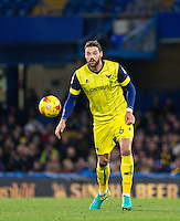 Aaron Martin of Oxford United during the The Checkatrade Trophy match between Chelsea U23 and Oxford United at Stamford Bridge, London, England on 8 November 2016. Photo by Andy Rowland.