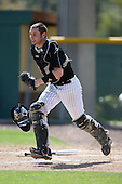 March 13, 2010:  Catcher Tyler Jones (16) of Long Island University Blackbirds in a game vs. Army at Henley Field in Lakeland, FL.  Photo By Mike Janes/Four Seam Images