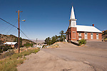Brick Methodist Church built 1866, Austin, Nev.