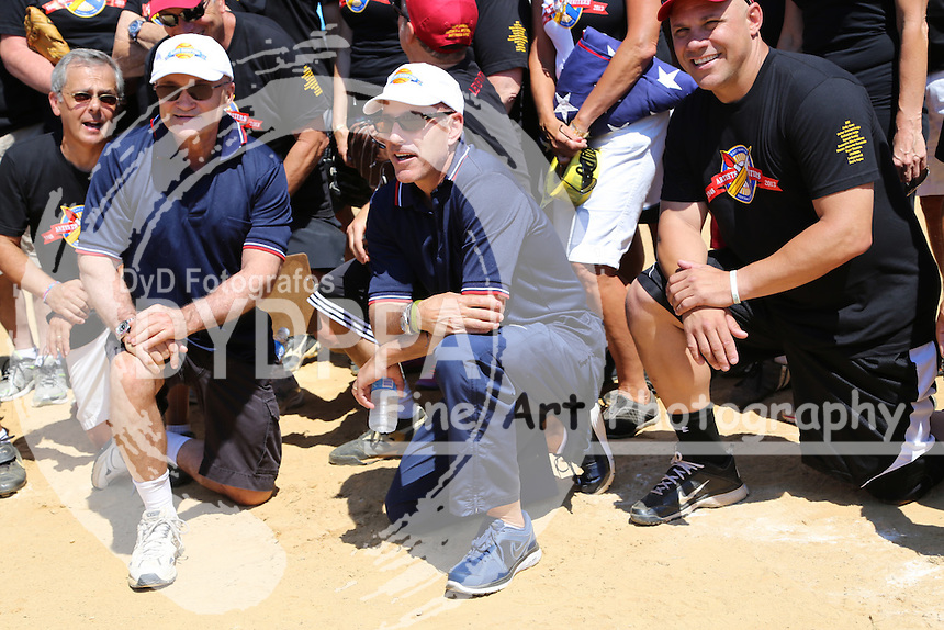 Mike Lupica, Ray Kelly, Matt Lauer, Jim Leyritz<br />