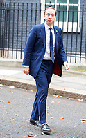 LONDON, UNITED KINGDOM - NOVEMBER 06: Secretary of State for Health and Social Care Matt Hancock leaves after a Cabinet meeting at 10 Downing Street in central London. November 06, 2018 in London, England. <br /> CAP/GOL<br /> &copy;GOL/Capital Pictures
