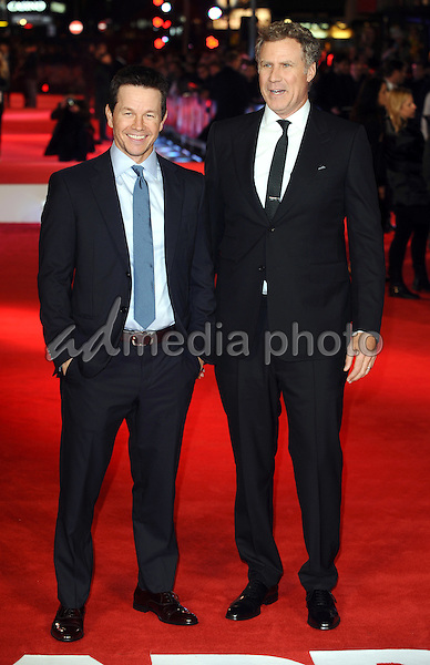 "09 December 2015 - London, England - Mark Wahlberg and Will Ferrell. ""Daddy's Home"" Movie Premiere held at Vue West End in London. Photo Credit: Kate Green/Alpha Press/AdMedia"