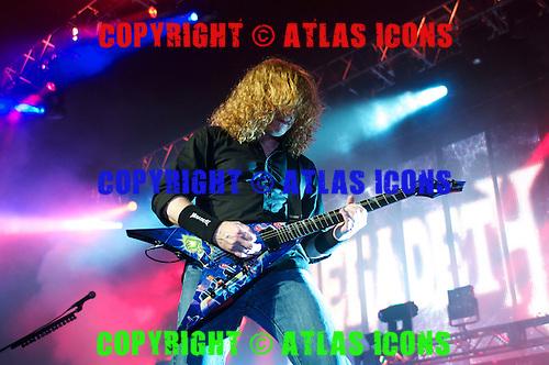 MEGADETH LIVE 2012