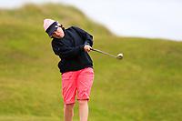 Regina Power (Ballinasloe) during the 2nd round of the Irish Women's Open Stroke Play Championship, Enniscrone Golf Club, Enniscrone, Co. Sligo. Ireland. 16/06/2018.<br /> Picture: Golffile | Fran Caffrey<br /> <br /> <br /> All photo usage must carry mandatory  copyright credit (© Golffile | Fran Caffrey)