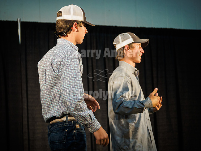 Stage crew: the Lubenko Brothers, Miss Amador Scholarship Pageant at the 79th Amador County Fair, Plymouth, Calif.<br /> <br /> <br /> #AmadorCountyFair, #PlymouthCalifornia,<br /> #TourAmador, #VisitAmador,