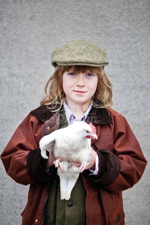 4/10/2010. Ryan Philips from Co Louth is pictured at the Ballinasloe Horse Fair, Ballinasloe, Ireland. Picture James Horan