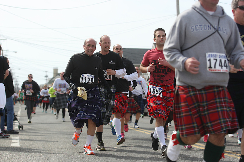 Jersey Shore Kilt Run photos: more than 3,000 try to break Guinness record for world's largest kilt race and raise money for Squan Strong, a Manasquan- based community group that helps raise money for Hurricane Sandy relief.<br />