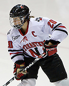 Katy Applin (NU - 20) - The Northeastern University Huskies defeated the Union College Dutchwomen 4-1 on Saturday, October 3, 2009, at Matthews Arena in Boston, Massachusetts.